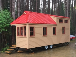 READ: A retired North Bay man keeps busy with tiny home buildling. Brittany Bortolon reports. (Supplied)