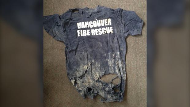 Vancouver Fire Rescue shirt 9/11
