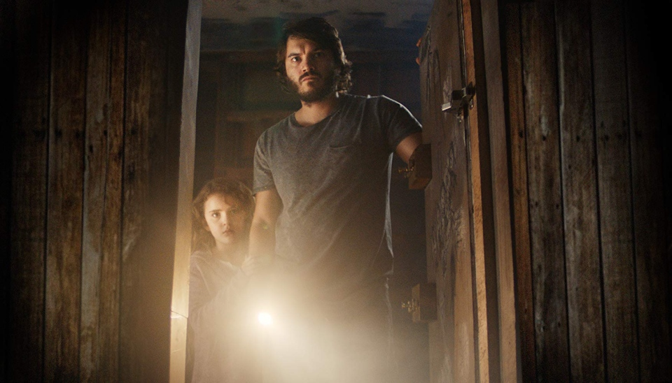 Chloe, played by Lexy Kolker, and Henry, played by Emile Hirsch, can be seen in this scene from 'Freaks.' (Freaks Production Inc.)