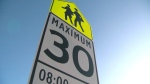 MPI's annual school zone enforcement blitz is underway. (File image).