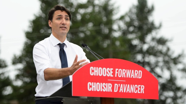 Trudeau campaign to visit Southwestern Ontario Monday