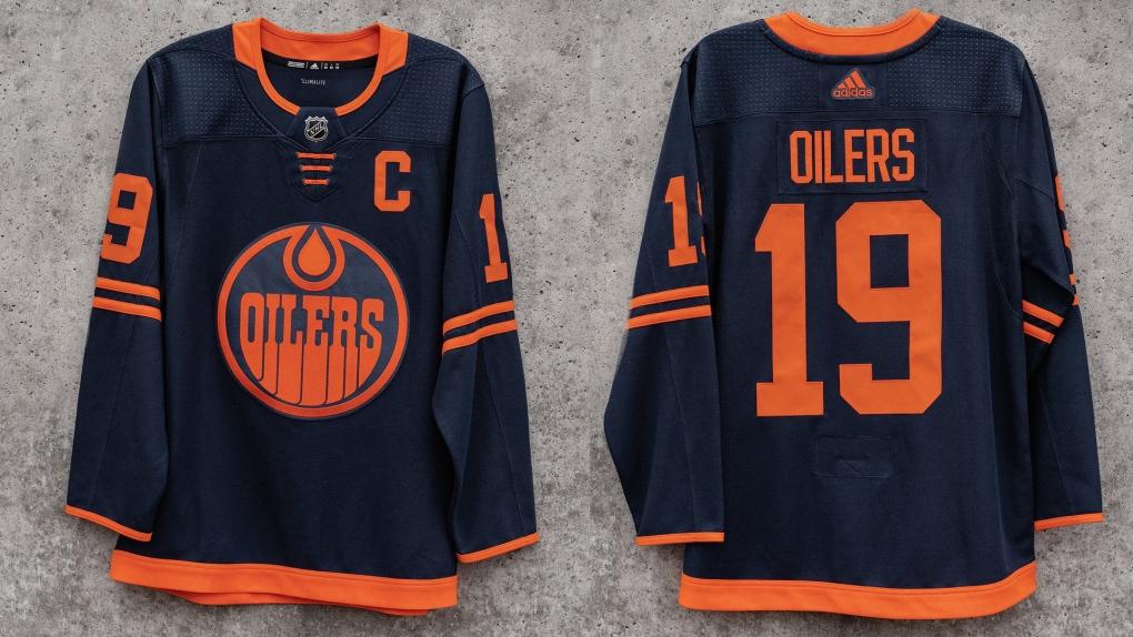 Oilers alternate jersey