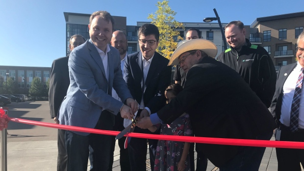 The Market at Centre in the Park ribbon cutting