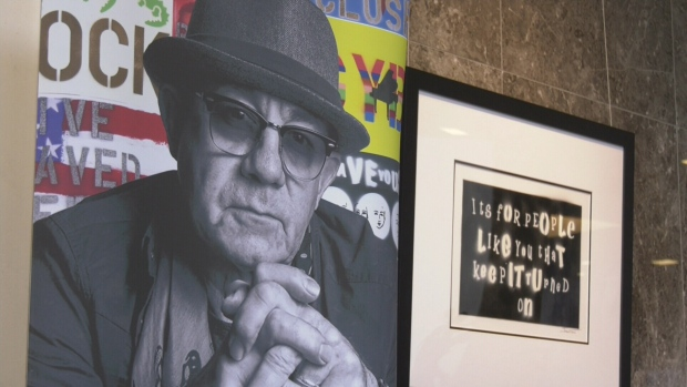 Elton John Art Exhibit Edmonton