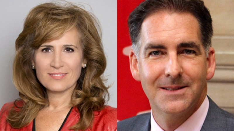 Liberal Sandra Pupatello is challenging NDP incumbent Brian Masse in the riding of Windsor West in the 2019 Federal Election. ( CTV News )