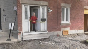 Margaret Nuara has MS and can't leave her home thanks to construction work outside her door.