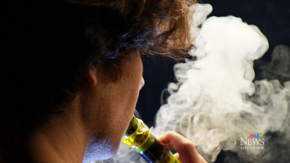Canada's first confirmed vaping-related illness involved youth on life support