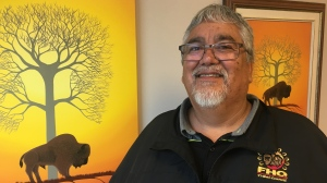 Deon Hassler has been named the 2019 recipient of the National First Nations Water Leadership Award by Indigenous Services Canada. (Creeson Agecoutay / CTV Regina).