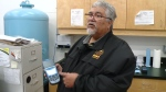 Veteran recognized for dedication to water