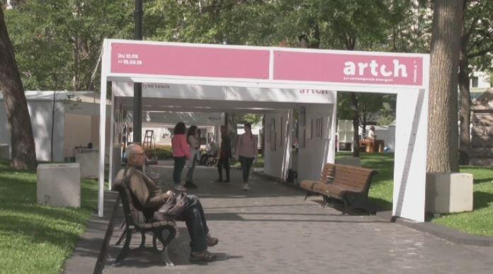 'Artch' is an open-air art gallery