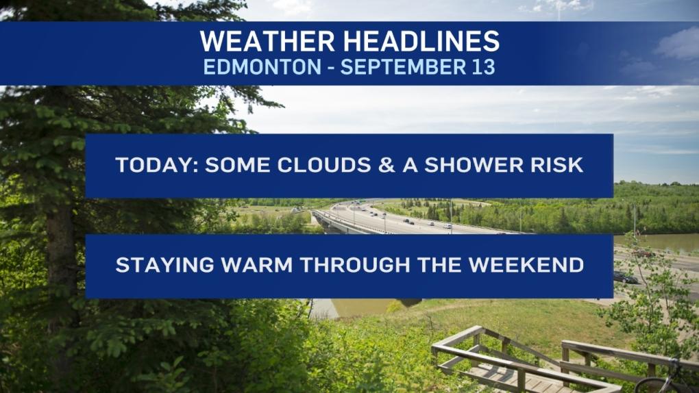 Sept. 13 weather headlines