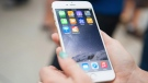 File image of an iPhone 6.(Hannah Yoon / THE CANADIAN PRESS)