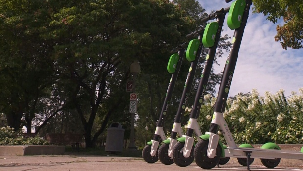 No more shared e-scooters in Montreal because they weren't being parked legally: city officials