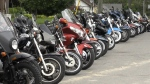 Bikers descend on Port Dover for Friday the 13th