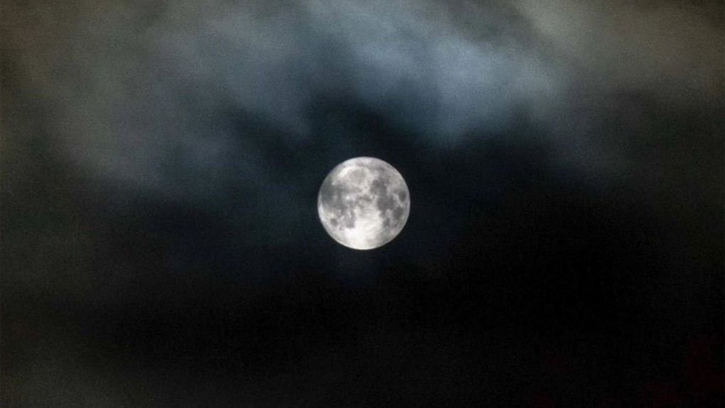 Full moon on Friday the 13th, but clouds might block the view