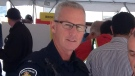 Retired constable Chris Moxley is seen in this file image from June 2016. (@SarniaPolice / Twitter)