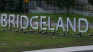 Bridgeland goes big time with new sign