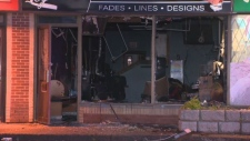 barber shop arson