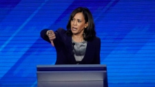 Kamala Harris at Democratic debate