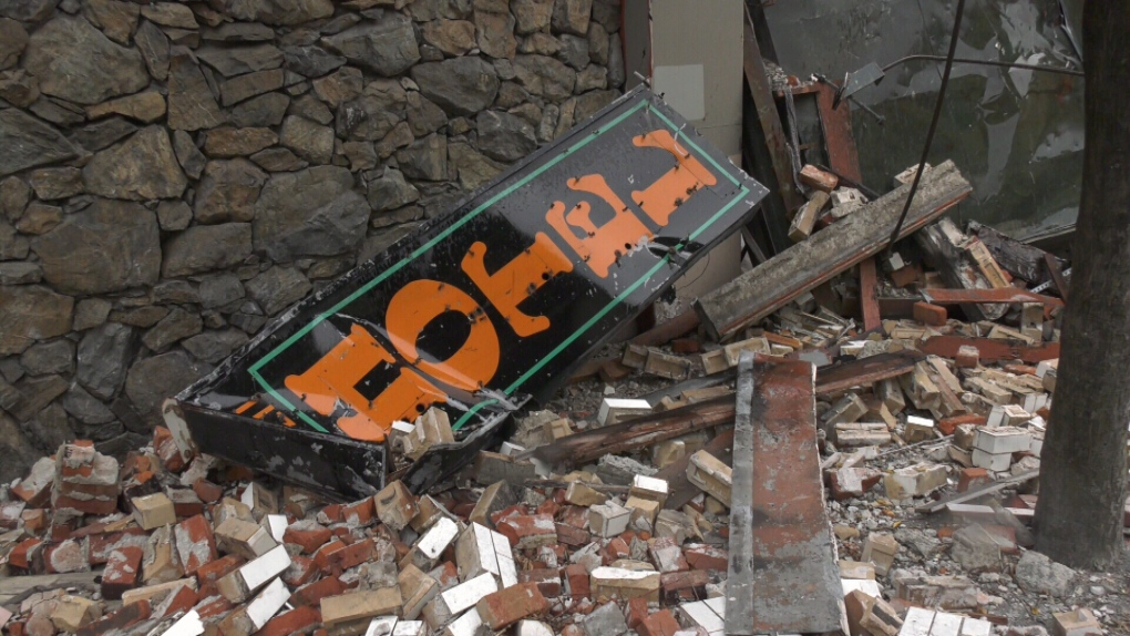 Demolition, removal of Victoria hotel rubble to begin next week