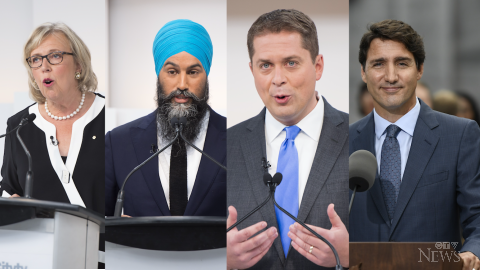 As Liberals, NDP skirmish, Scheer sets sights on Prime Minister's Office