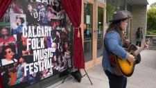 calgary, folk, music, cover art, folk music festiv