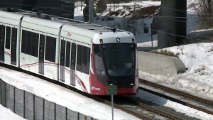 OC Transpo General Manager John Manconi says stalled trains may be related to wet weather.