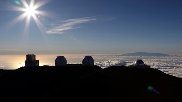 Hawaii telescope