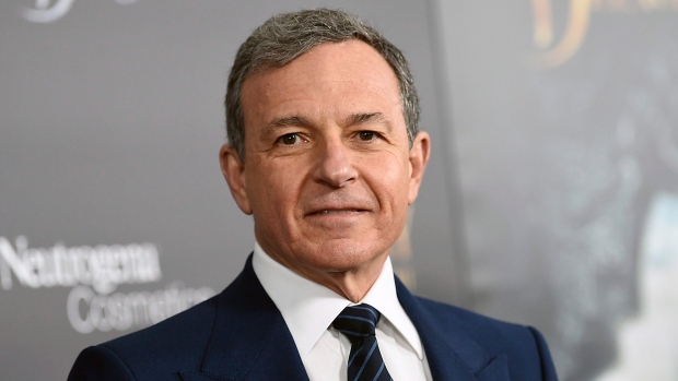 "In this Monday, March 13, 2017, file photo, Walt Disney Co. CEO Robert Iger attends a special screening of Disney's ""Beauty and the Beast"" at Alice Tully Hall, in New York. (Photo by Evan Agostini/Invision/AP, File)"