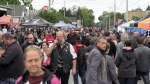 Friday the 13th in Port Dover draws huge crowds