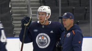 Connor McDavid, Oilers main training camp