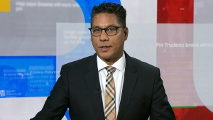 CTV's Truth Tracker Richard Madan appears on CTV National News on Friday, Sept. 13, 2019.