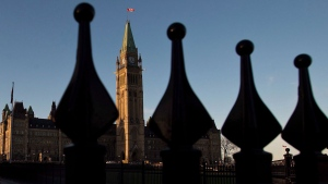Parliament Hill in Ottawa is pictured in this file photo on October 29, 2013. THE CANADIAN PRESS/Sean Kilpatrick