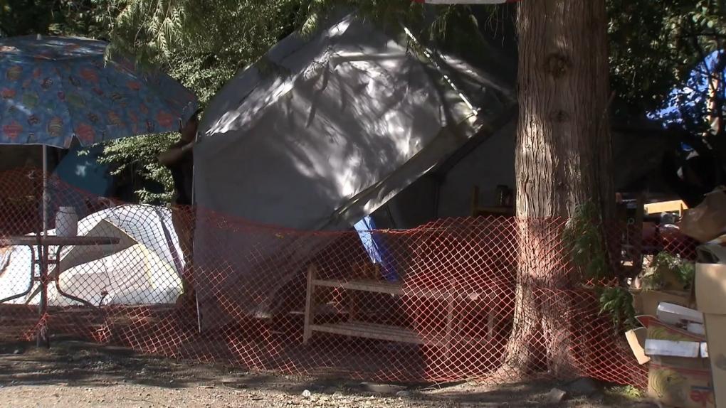 Maple Ridge homeless camp taken down