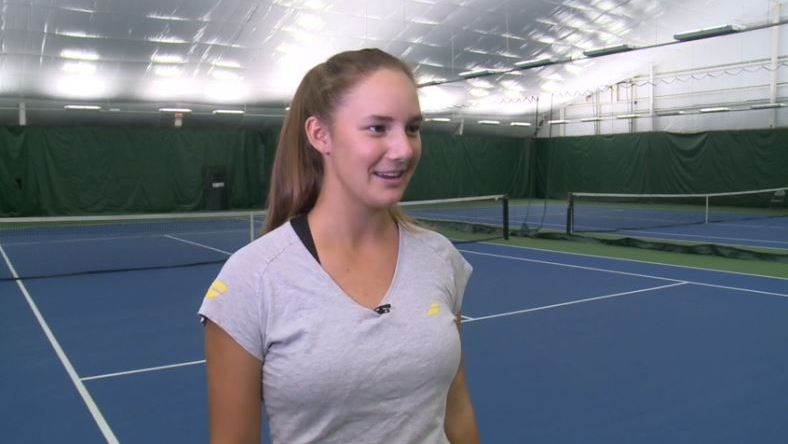 After Bianca: Quebec's Melodie Collard aims for tennis stardom