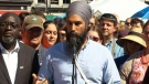 Jagmeet Singh comments on relationship with U.S.