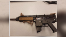 Police found this gun in a Waterloo residence. (Courtesy: WRPS)