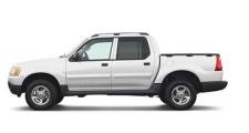 2005 white Ford Explorer Sport Trac