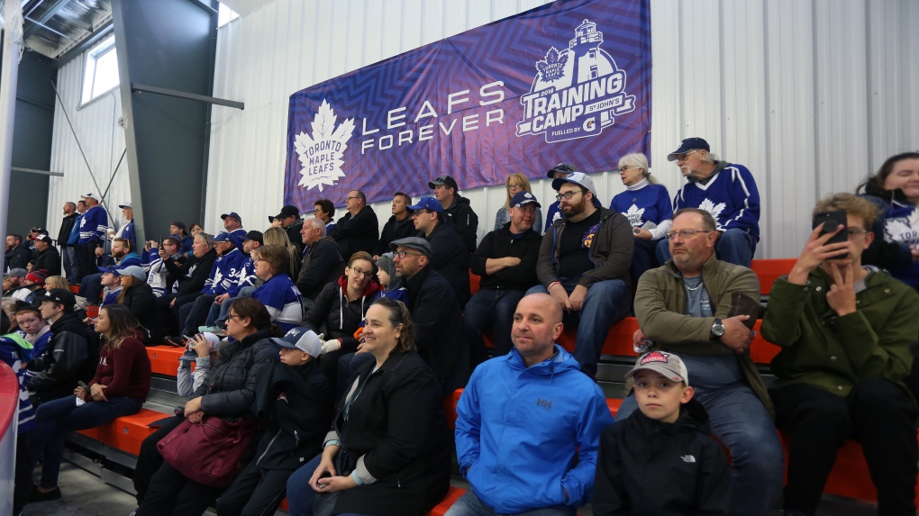 Hockey fans in Paradise, N.L. buzzing with excitement over Leafs training camp
