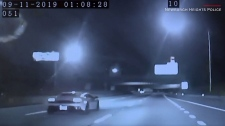 Lamborghini driver pulled over for speeding
