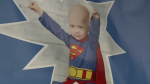 """It's so uplifting because Caleb dressed as a superhero every single day when he was fighting cancer,"" says mother, Nicole Forgeron-MacArthur. ""To see other people celebrating Caleb's spirit and really jumping on board, it's really empowering."""