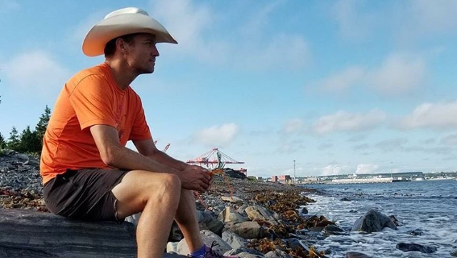 In July of 2018, Proctor's last attempt to run across Canada ended after 2,415 kilometres due to a herniated lumbar disc which forced him to stop just east of Winnipeg. (Provided.)