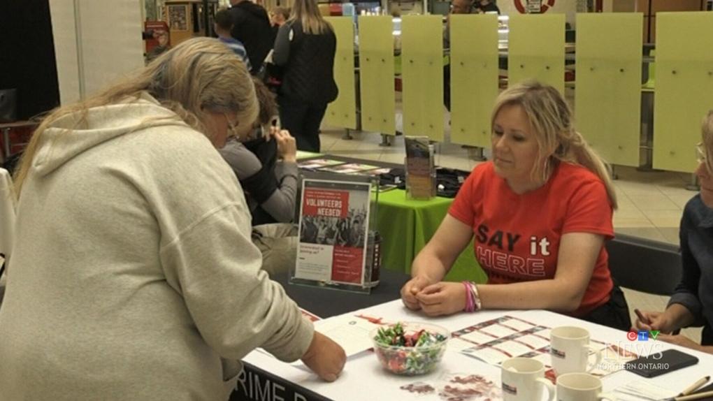 Volunteer showcase in Sault Ste. Marie