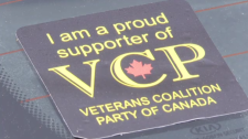 Veterans Coalition sticker
