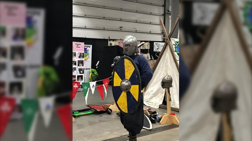 Big crowds and bigger costumes take to 2019 Sask. Entertainment Expo