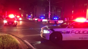 Peel police are on the scene of a fatal shooting in the area of Morning Star and Goreway in Mississauga. (Patrick Darrah)