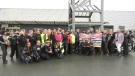 Female bikers send worldwide message