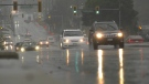 Environment Canada issued a rainfall warning for Metro Vancouver and the Fraser Valley Saturday. (CTV)