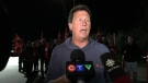 Unifor national representative Chris Taylor speaks to reporters about a proposal made to Nemak to end the 14-day labour dispute. September 14, 2019.  (Ricardo Veneza/CTV Windsor)