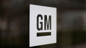 This May 16, 2014, file photo shows the General Motors logo at the company's world headquarters in Detroit. (AP Photo/Paul Sancya, File)